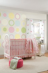 Pokój dziecka w stylu vintage