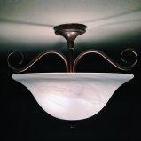 Przykład wiszącej lampy