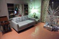 salon, wnętrze, meble