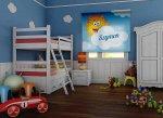 rolety w pokoju dziecka